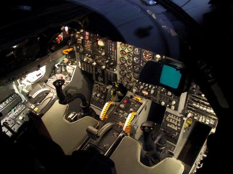 F-111F Cockpit Tour